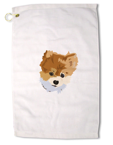 "Custom Pet Art Premium Cotton Golf Towel - 16"" x 25 by TooLoud"
