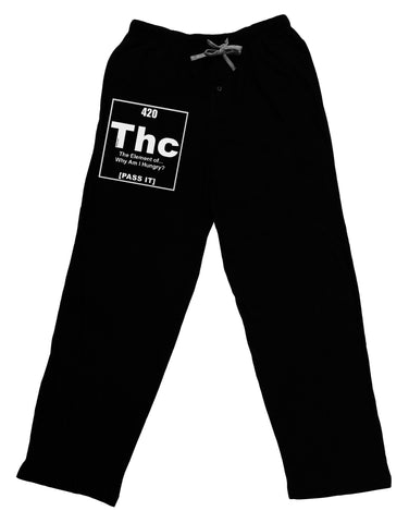 420 Element THC Funny Stoner Adult Lounge Pants by TooLoud