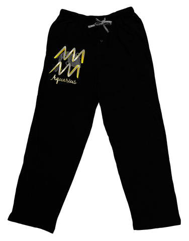 Aquarius Symbol Adult Lounge Pants