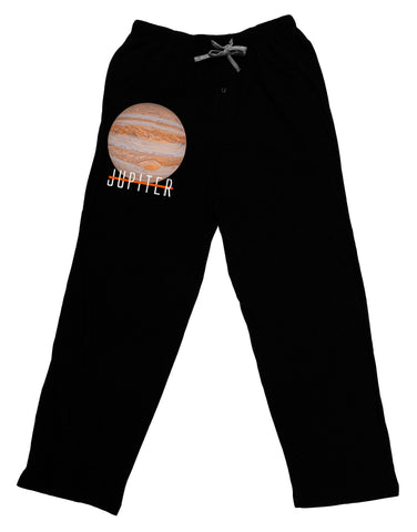 Planet Jupiter Earth Text Adult Lounge Pants