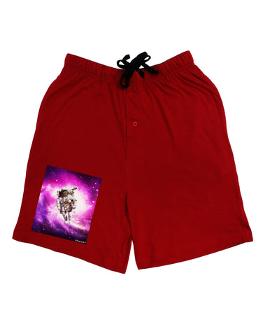Astronaut Cat Adult Lounge Shorts
