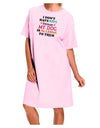 I Don't Have Kids - Dog Adult Wear Around Night Shirt and Dress
