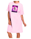 Astronaut Cat Adult Wear Around Night Shirt and Dress