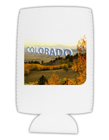 Colorado Postcard Gentle Sunrise Collapsible Neoprene Tall Can Insulator by TooLoud
