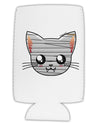 Mummy Kitty Collapsible Neoprene Tall Can Insulator by TooLoud
