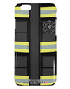 Firefighter Black AOP iPhone 6 Plus Plastic Case All Over Print