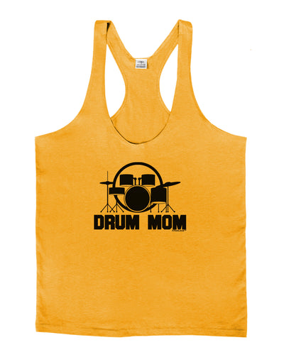 Drum Mom - Mother's Day Design Mens String Tank Top