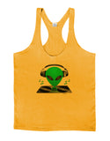 Alien DJ Mens String Tank Top
