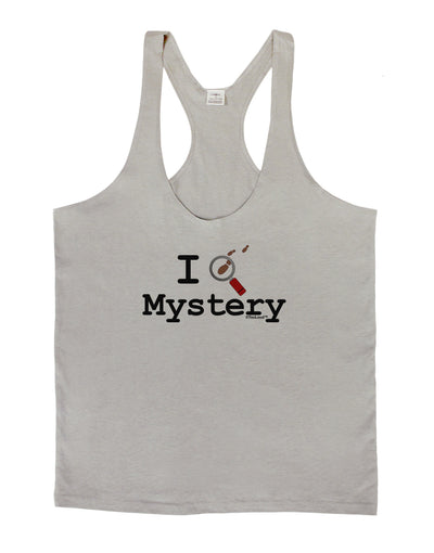 I Love Mystery Mens String Tank Top