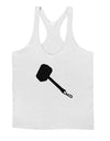 Thors Hammer Nordic Runes Lucky Odin Mjolnir Valhalla  Mens String Tank Top by TooLoud