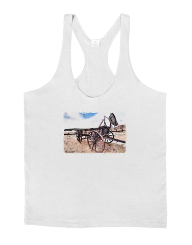 Antique Vehicle Mens String Tank Top