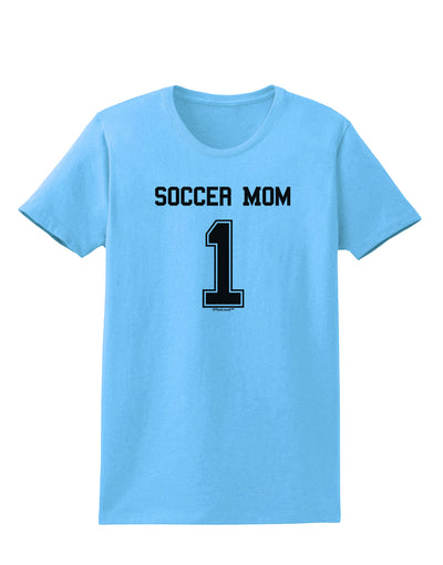 Soccer Mom Jersey Womens T-Shirt