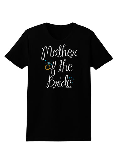 Mother of the Bride - Diamond - Color Womens Dark T-Shirt