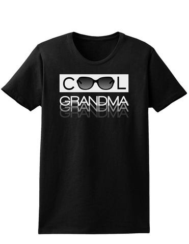 Cool Grandma Womens Dark T-Shirt