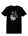 Mandala Baby Elephant Womens Dark T-Shirt - Black - 3XL Tooloud