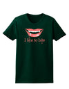 Like to Bite Womens Dark T-Shirt