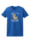 Rescue A Puppy Womens Dark T-Shirt