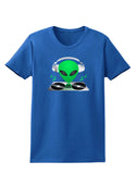 Alien DJ Womens Dark T-Shirt