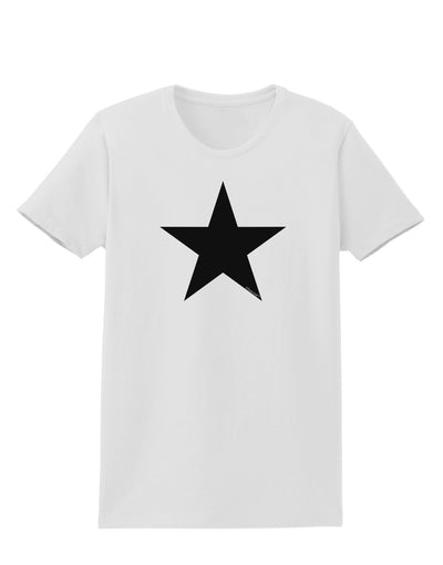 Black Star Womens T-Shirt