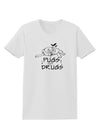 Pugs Not Drugs Womens T-Shirt White 4XL Tooloud