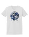 Planet Earth Text Womens T-Shirt