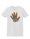 Cardano Hero Hand Womens T-Shirt White 4XL Tooloud