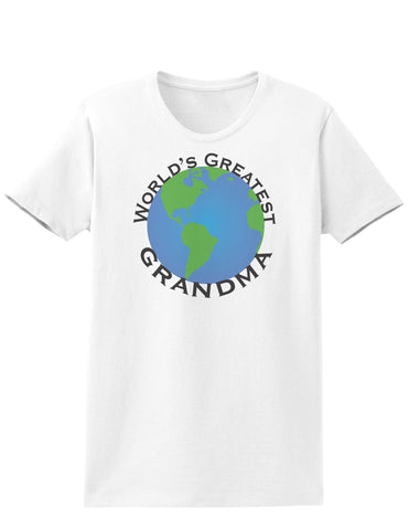 World's Greatest Grandma Womens T-Shirt