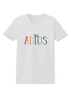 Adios Womens T-Shirt White 4XL Tooloud