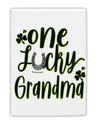TooLoud One Lucky Grandma Shamrock Fridge Magnet 2 Inchx3 Inch Portrai