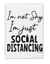 TooLoud I'm not Shy I'm Just Social Distancing Fridge Magnet 2 Inchx3