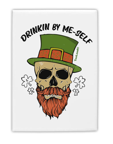 TooLoud Drinking By Me-Self Fridge Magnet 2 Inchx3 Inch Portrait