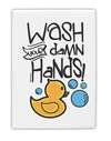 TooLoud Wash your Damn Hands Fridge Magnet 2 Inchx3 Inch Portrait