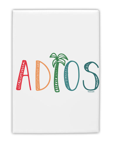 TooLoud Adios Fridge Magnet 2 Inchx3 Inch Portrait