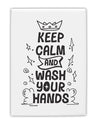 TooLoud Keep Calm and Wash Your Hands Fridge Magnet 2 Inchx3 Inch Port