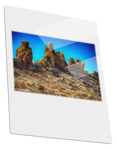 Crags in Colorado Metal Panel Wall Art Portrait - Choose Size by TooLoud