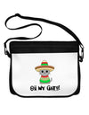 Oh My Gato - Cinco De Mayo Neoprene Laptop Shoulder Bag