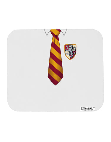 TooLoud Wizard Uniform Red and Yellow Mousepad All Over Print