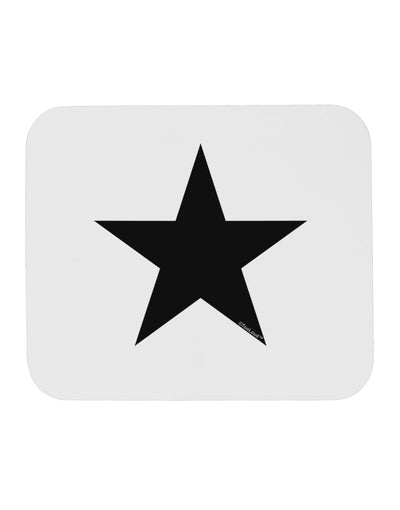 TooLoud Black Star Mousepad