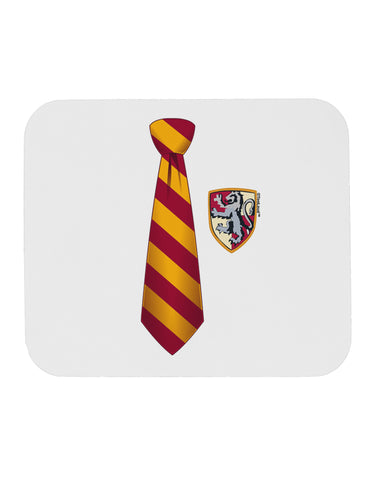 TooLoud Wizard Tie Red and Yellow Mousepad