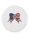 "Patriotic Bow 2.25"" Round Pin Button"