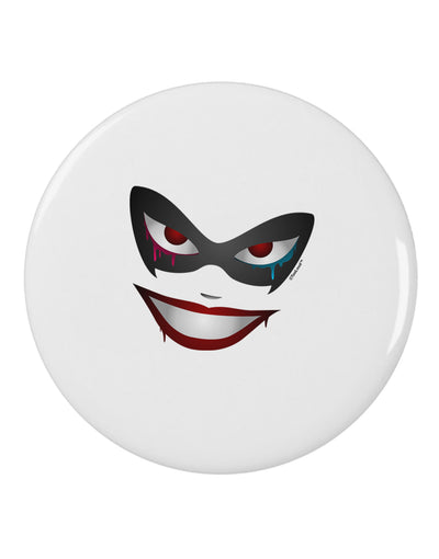 "Lil Monster Mask 2.25"" Round Pin Button"