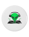 "Alien DJ 2.25"" Round Pin Button"
