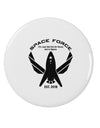 "Space Force Funny Anti Trump 2.25"" Round Pin Button by TooLoud"