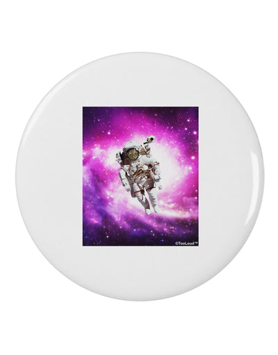 "Astronaut Cat 2.25"" Round Pin Button"
