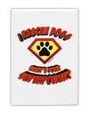"Rescue Dogs - Superpower Fridge Magnet 2""x3"