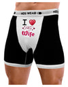I Love Heart My Wife Mens NDS Wear Boxer Brief Underwear