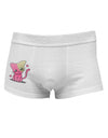 Kawaii Kitty Side Printed Mens Trunk Underwear