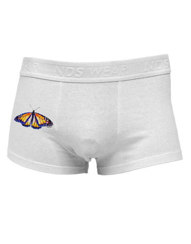 TooLoud Watercolor Monarch Butterfly Side Printed Mens Trunk Underwear