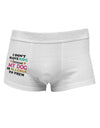 I Don't Have Kids - Dog Side Printed Mens Trunk Underwear
