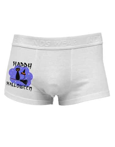 TooLoud Witch Cat Side Printed Mens Trunk Underwear